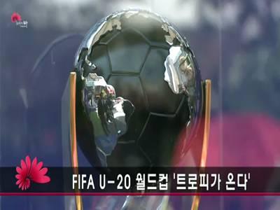 FIFA U-20 월드컵 '트로피가 온다'